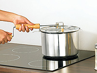 popcorn topf american style popcornmaschine popcorn maschine maker popkorn ebay. Black Bedroom Furniture Sets. Home Design Ideas