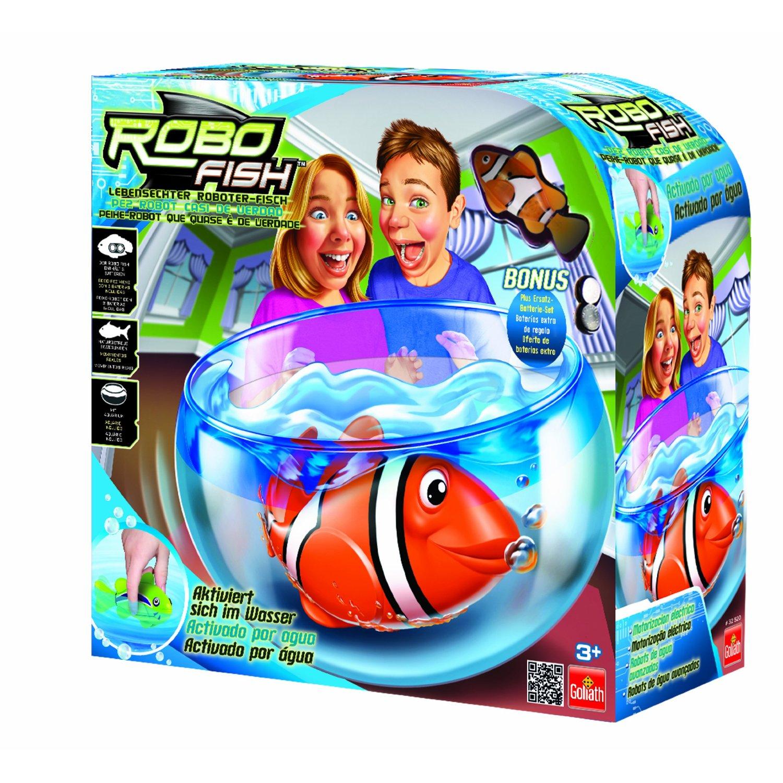 Robofish robofisch spielset aquarium incl 1 robo fish for Robo fish tank